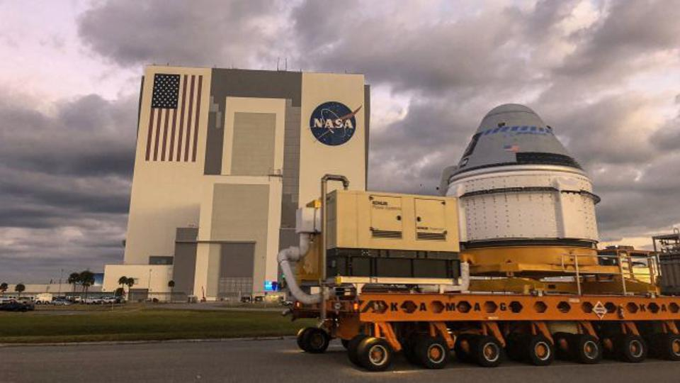CST-100 Starliner rollout