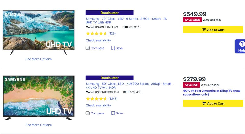 Best Buy TV deals Cyber Monday, Best Buy TV deals Black Friday,