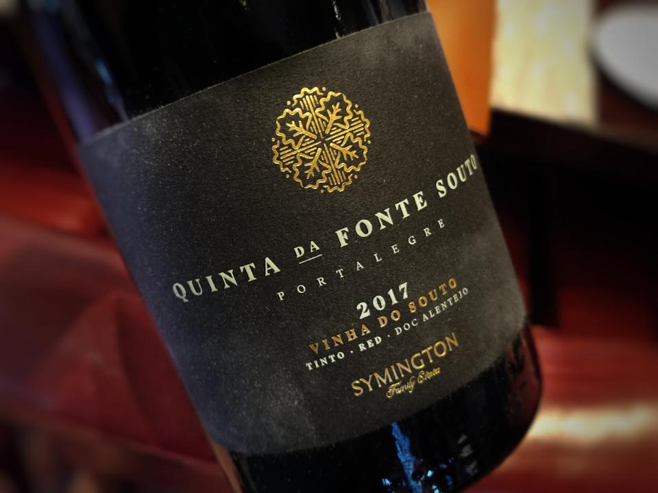 2017 Quinta da Fonte Souto Vinha do Souto Tinto (Red) Alentejo DOC (Portalegre)
