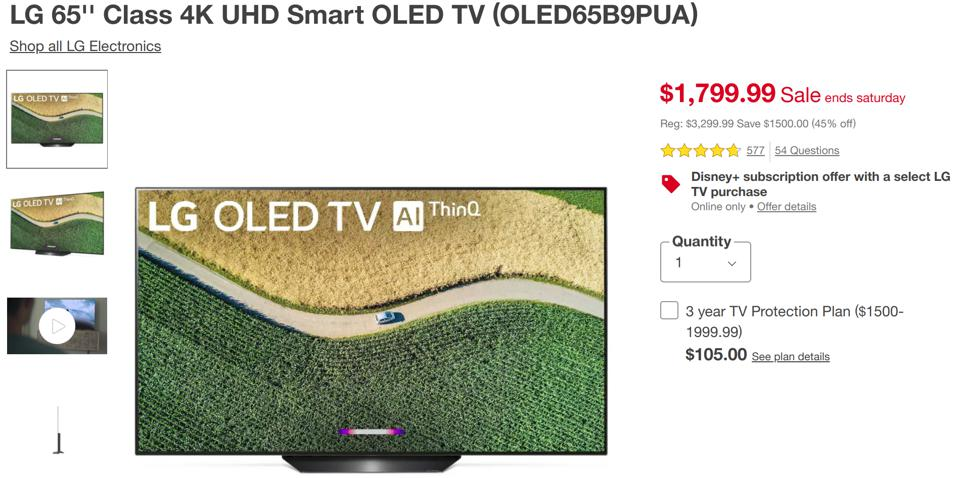 Target Black Friday TV deals, Target Cyber Monday TV deals,