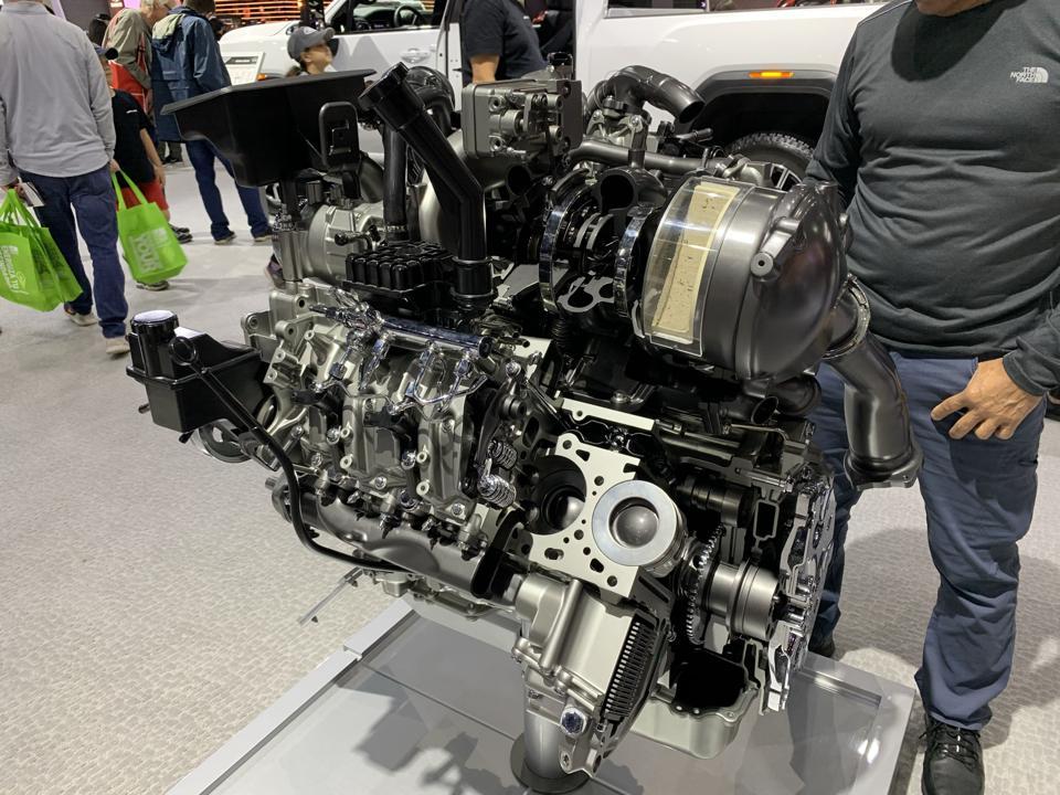 General Motors L5P Duramax 6.6L turbo-diesel engine
