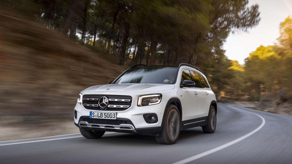 Easy and relaxed, the GLB's on-road composure takes Benz SUVs to a new level.