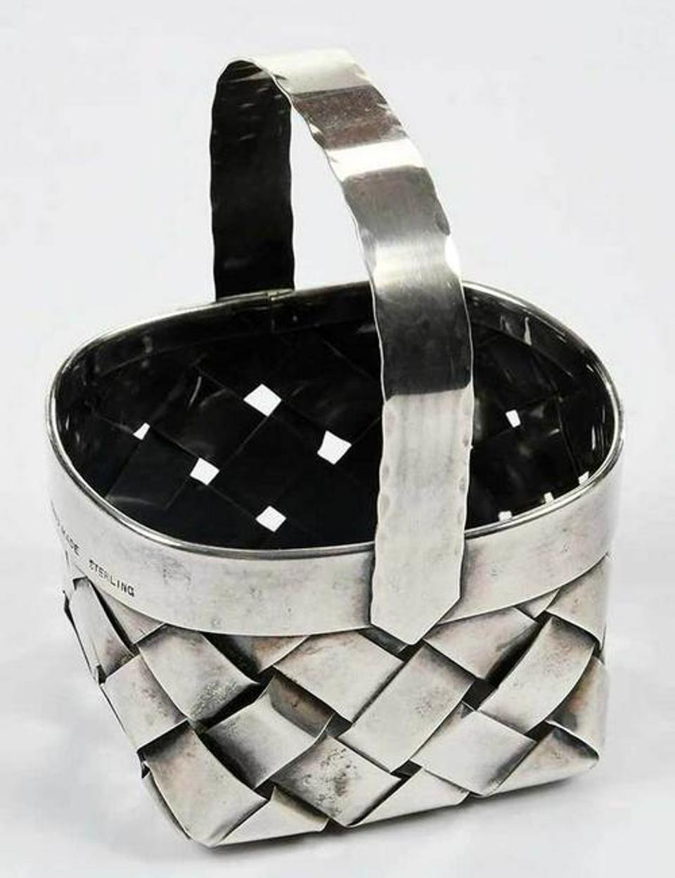 Cartier Sterling Basket
