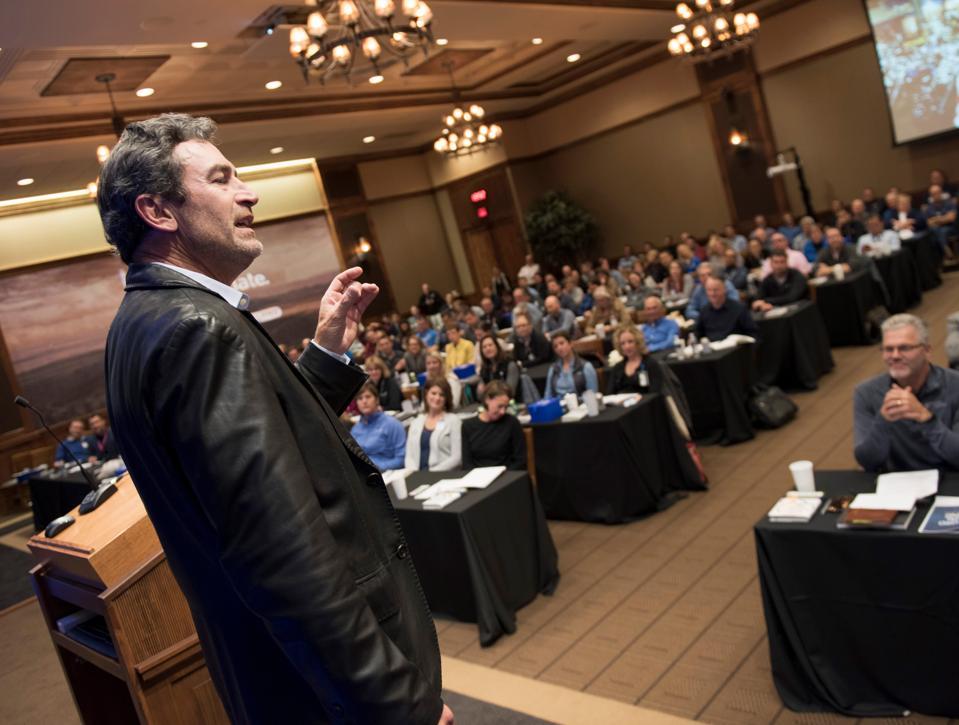Keynote presenter Ken Schmidt