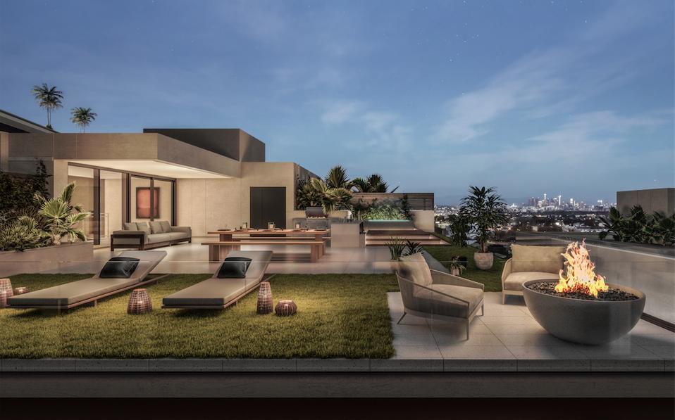 Expansive verandas