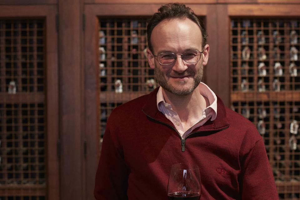 Mark De Vere, master of wine for Robert Mondavi Winery