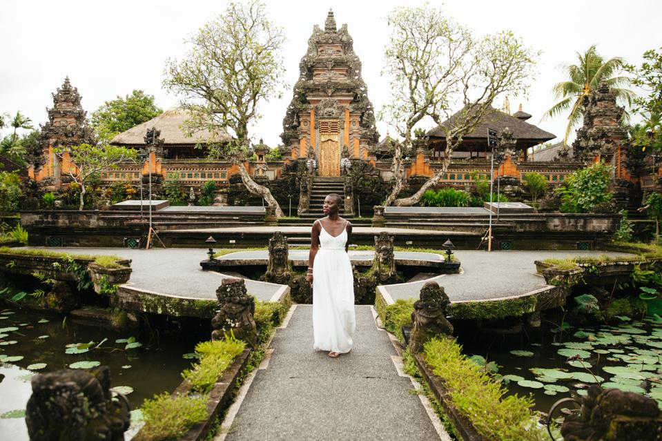 Jessica Nabongo in Ubud, Bali, Indonesia