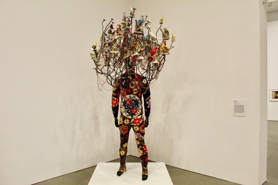 ″Soundsuit,″ by Nick Cave, at the ICA
