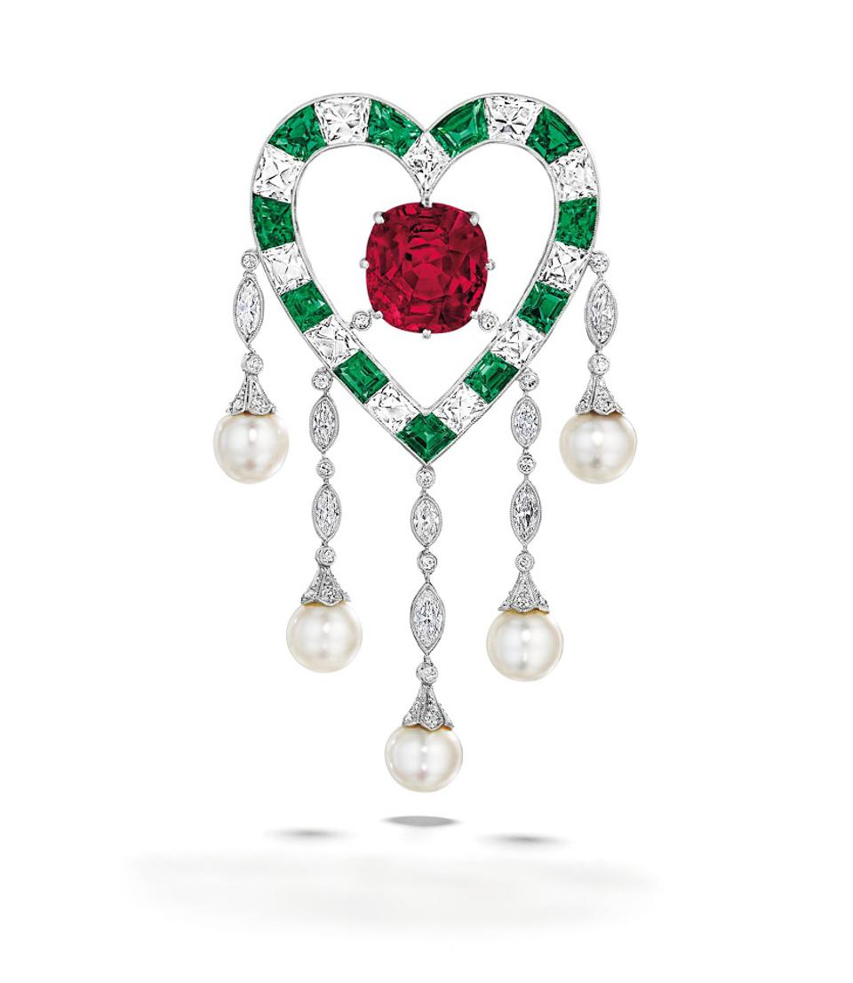 The 'Du Pont Ruby' Leads Christie's New York Jewelry Auction