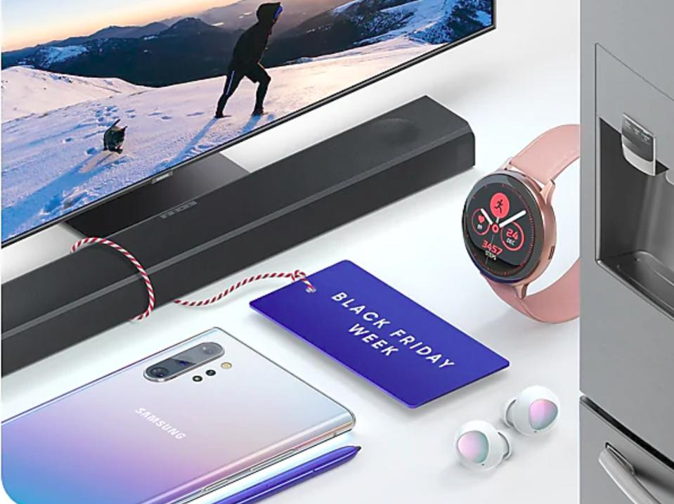 Samsung Cyber Monday deals, Cyber Monday Galaxy S10 deals, Cyber Monday Galaxy Note 10 deals, Cyber Monday Samsung TV deals,