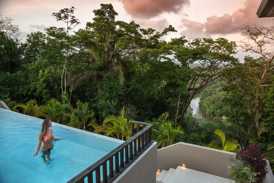 Copal Tree Lodge in Punta Gorda, Belize