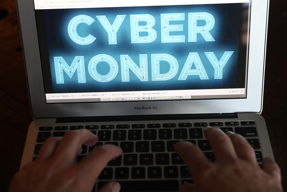Online Retailers Offer Holiday Sales On 'Cyber Monday'
