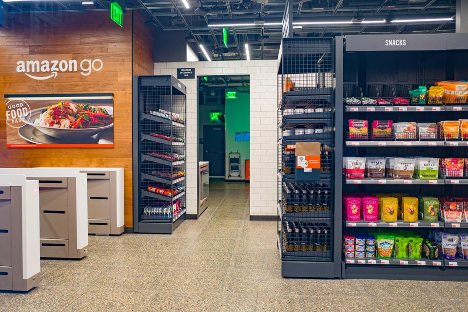 Amazon Go. Photo by Smith Collection/Gado/Getty Images