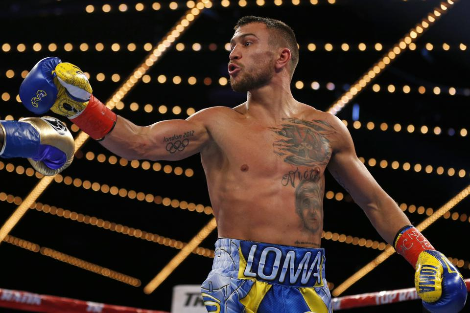 Lomachenko Rigondeaux Boxing