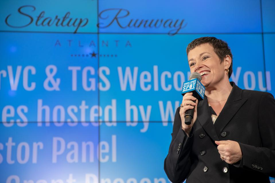 Lisa Calhoun, general partner and founder of Valor Ventures at Startup Runway
