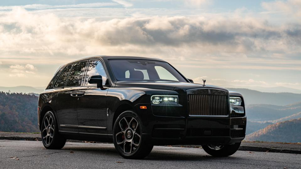 Rolls-Royce Cullinan Black Badge SUV