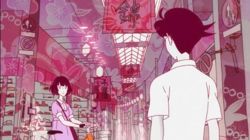 Yuasa's style permeates ″The Tatami Galaxy.″