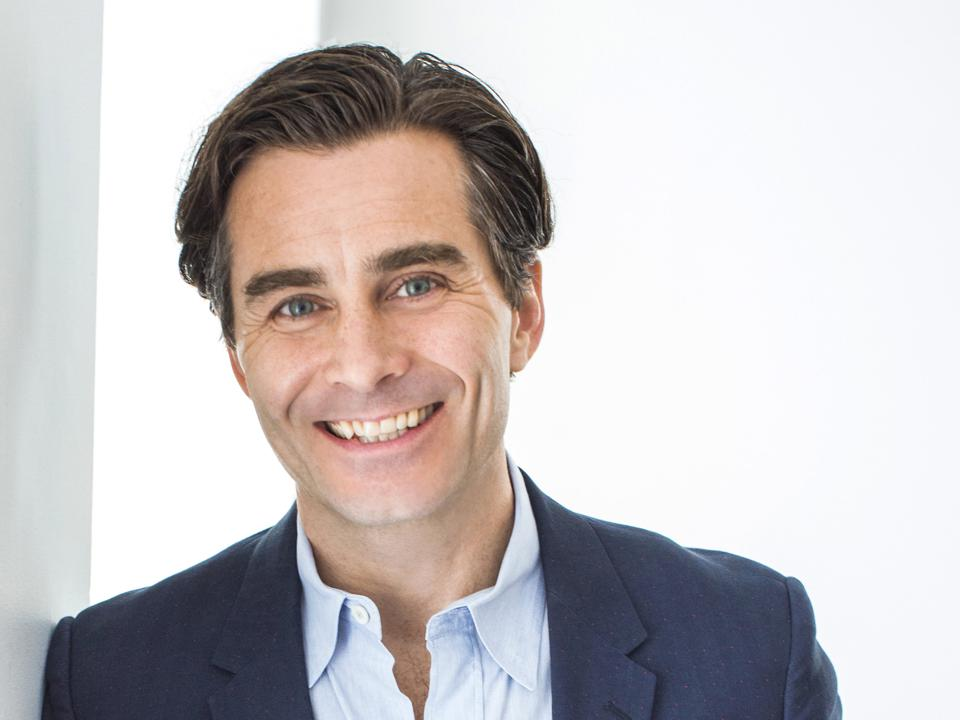 A photograph of Mike Steib, who became CEO of Artsy in June, 2019.