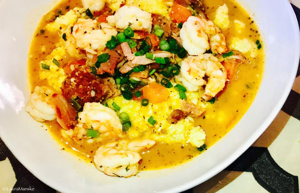 shrimp and grits, Charleston