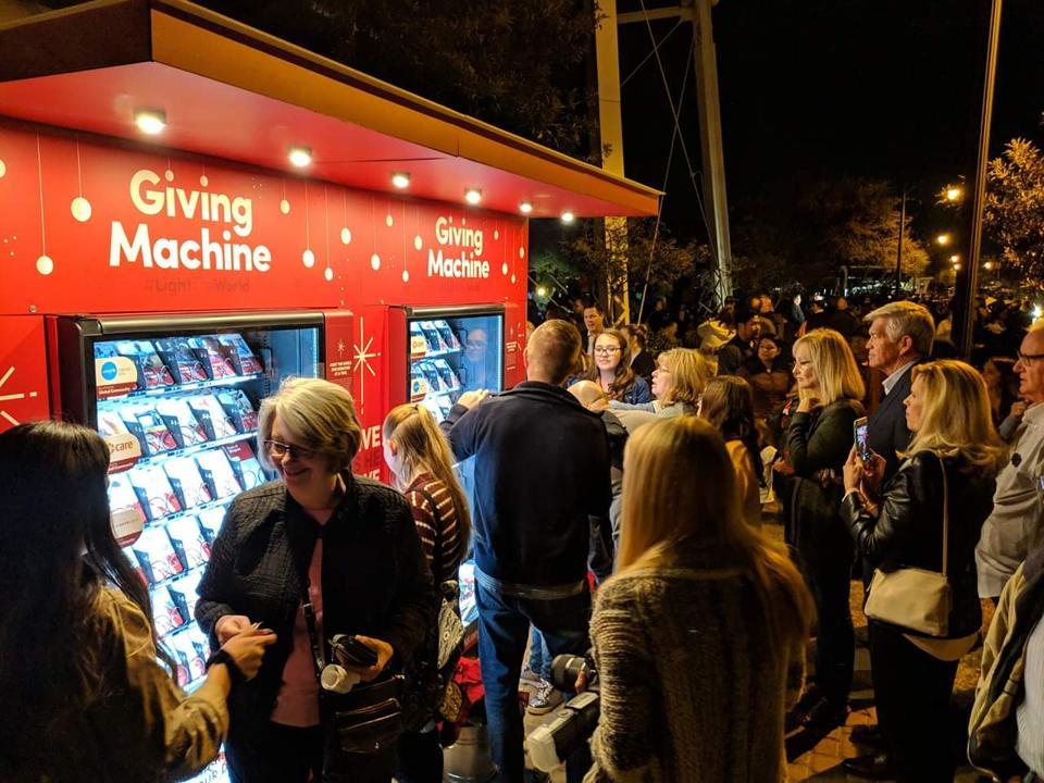 Giving Machine in Arizona