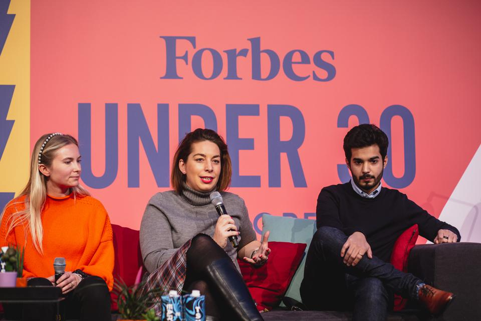 Forbes Under 30 Summit Europe branding panel