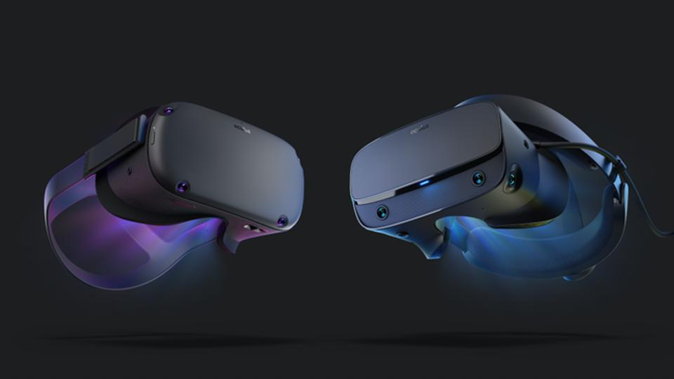 2 VR headsets