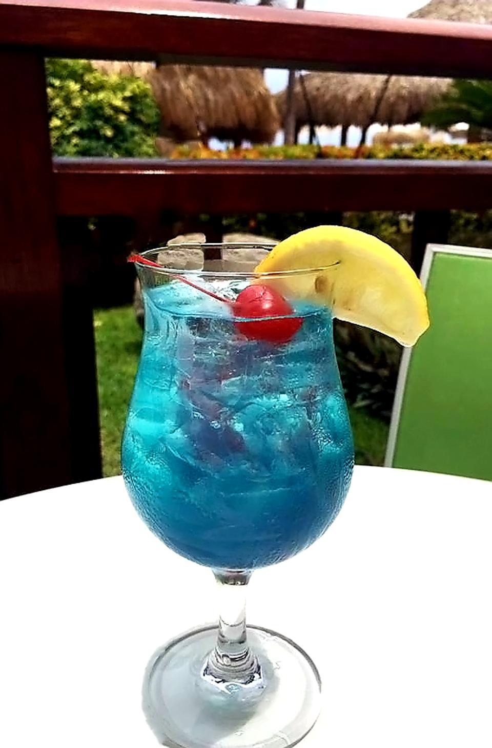 Electric Lemonade at Hyatt Regency Aruba in Aruba.