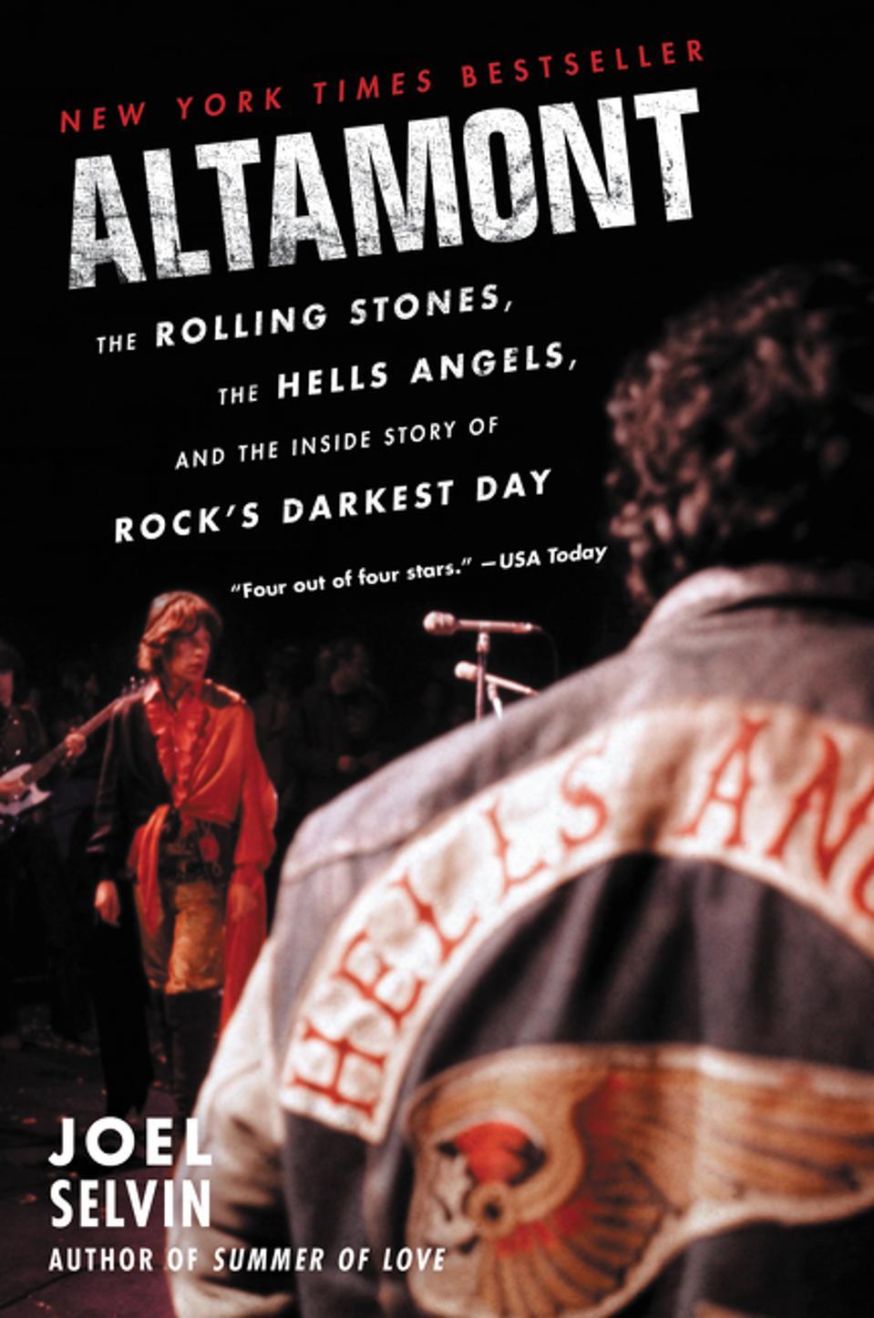 Book jacket of Altamont, by Joel Selvin