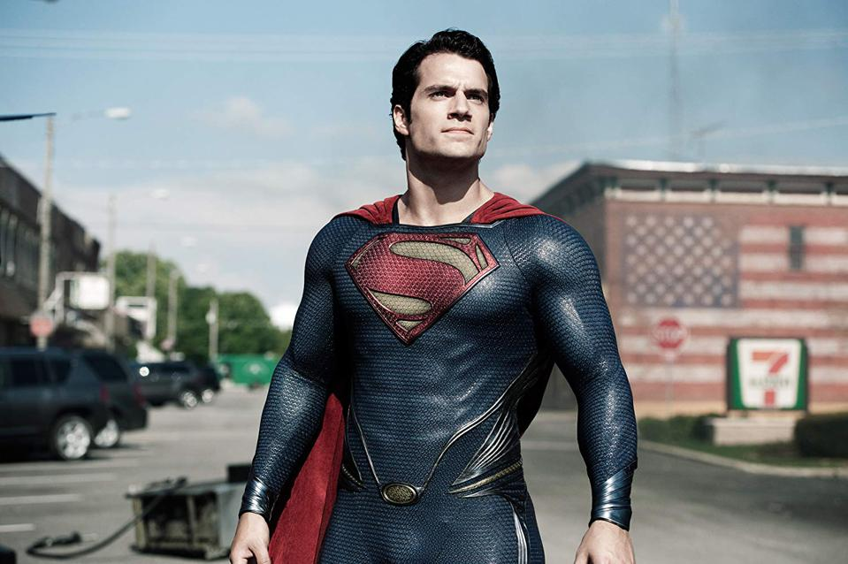 Henry Cavill in Zack Snyder's 'Man Of Steel'