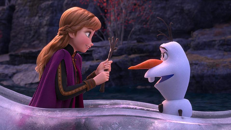 Kristen Bell and Josh Gad in Walt Disney's 'Frozen II'