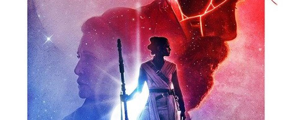 This New 'Star Wars: Rise Of Skywalker' IMAX Poster Is Really Bad