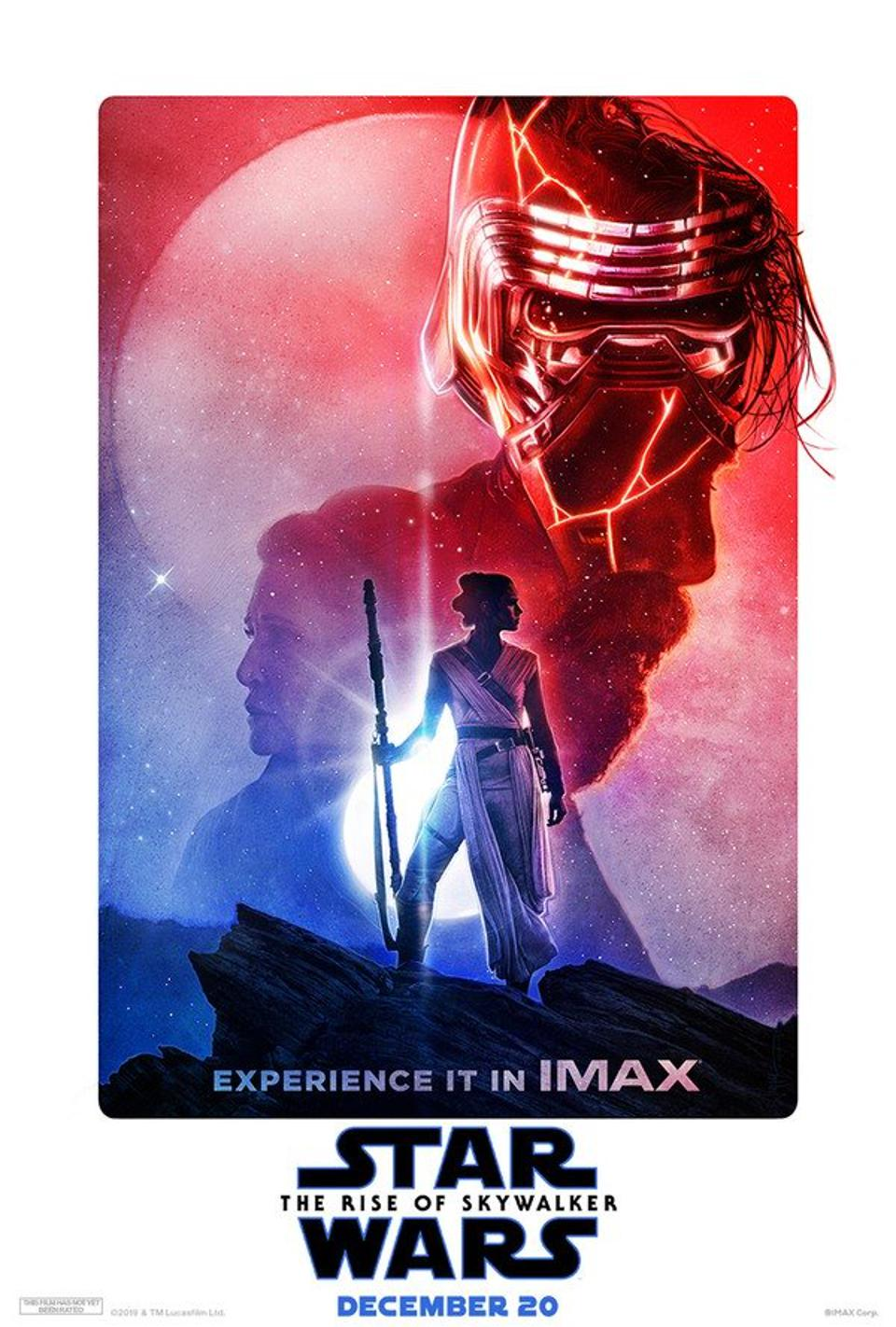 Rise Of Skywalker Imax Poster