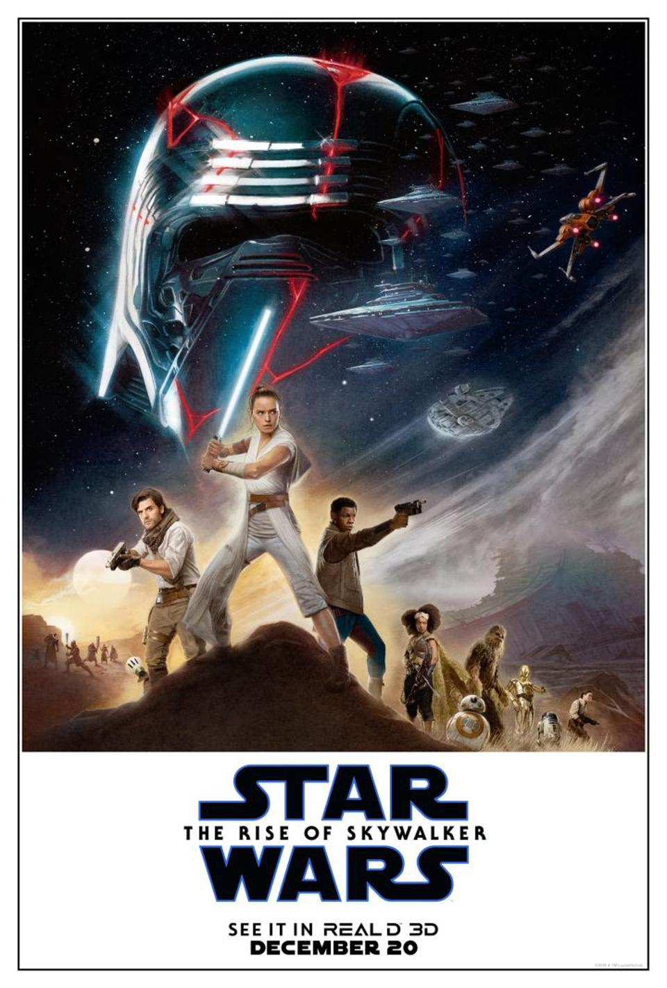 Image result for rise of skywalker poster
