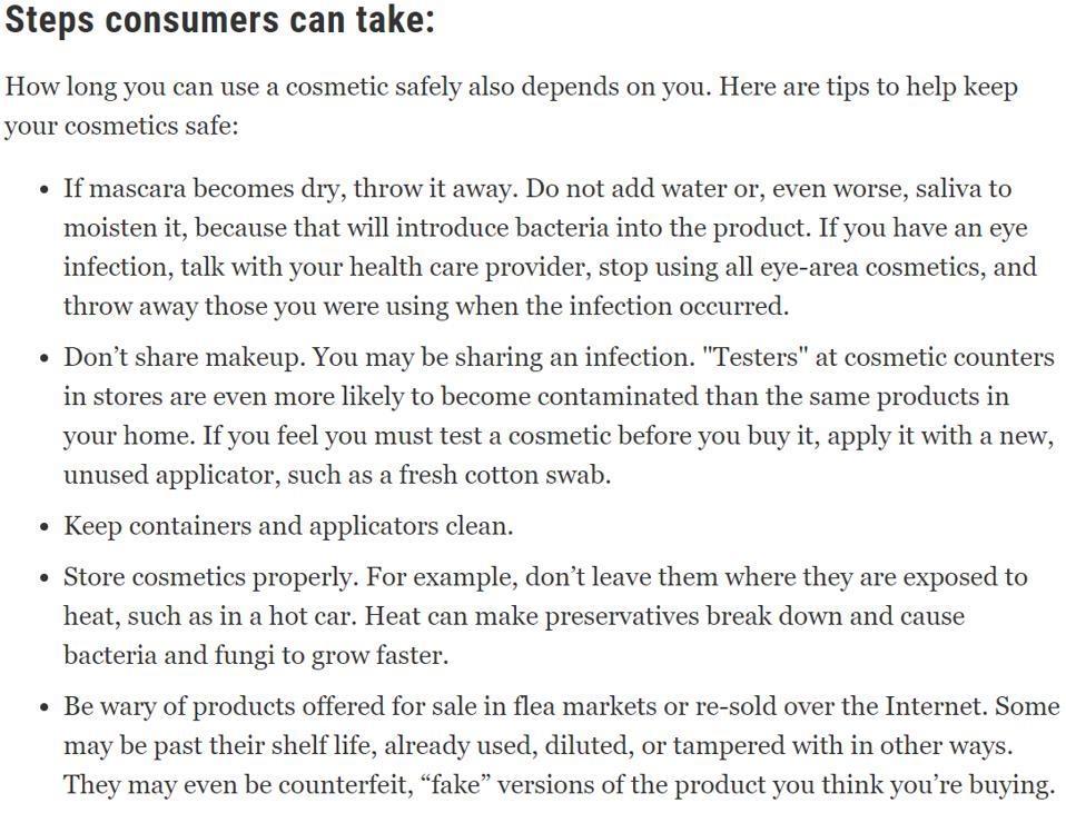 FDA tips