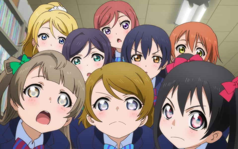 In ″Love Live!″ these high schoolers want to become performers.