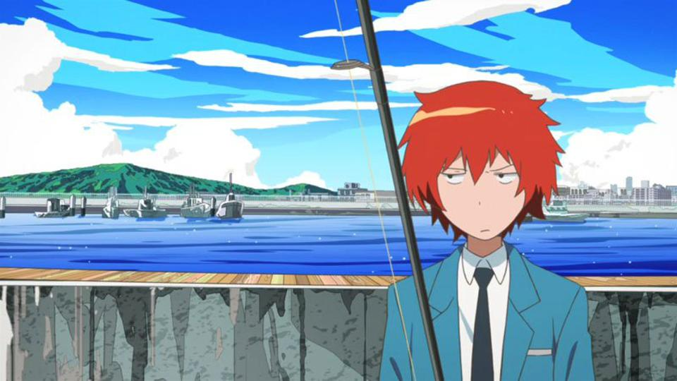 Yuki overcomes his social anxiety by learning to fish in ″Tsuritama.″
