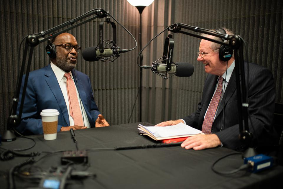 Steve Forbes interviews Bernard Tyson for the What's Ahead podcast.