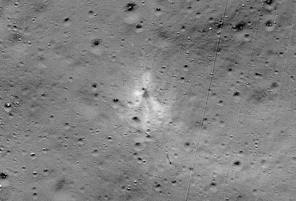 India Vikram Lander impact site