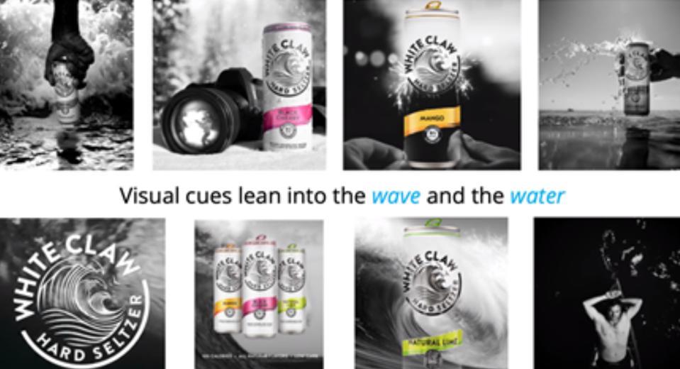 White Claw ad campaign