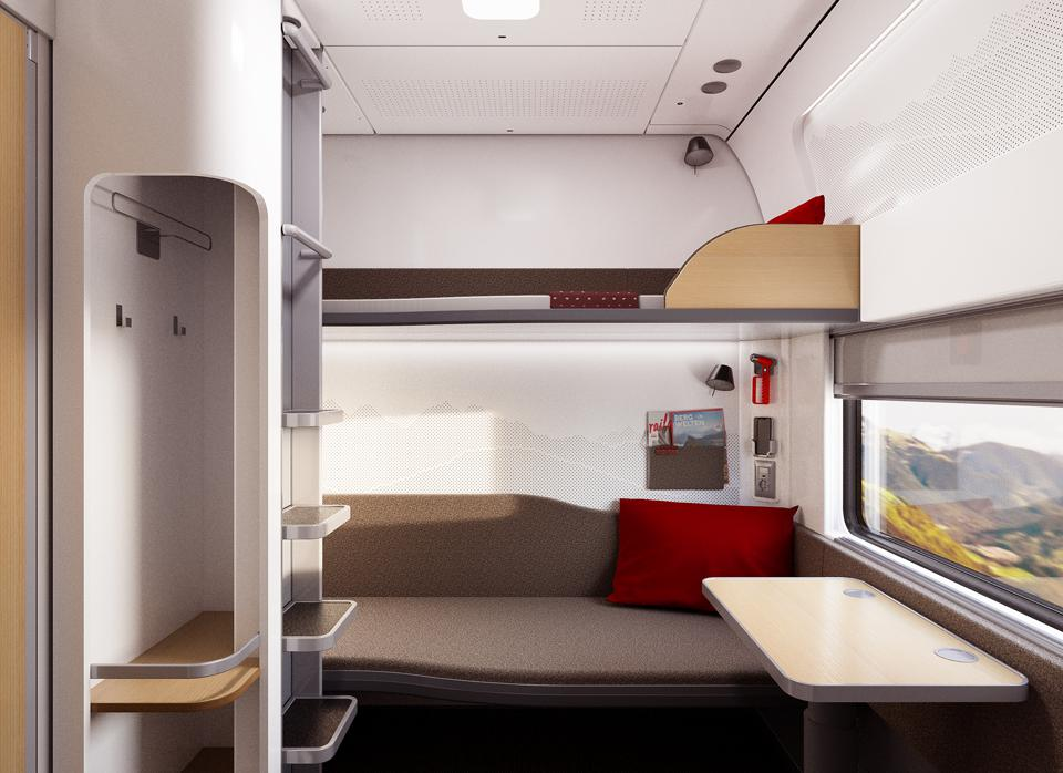 Nightjet sleeping compartment
