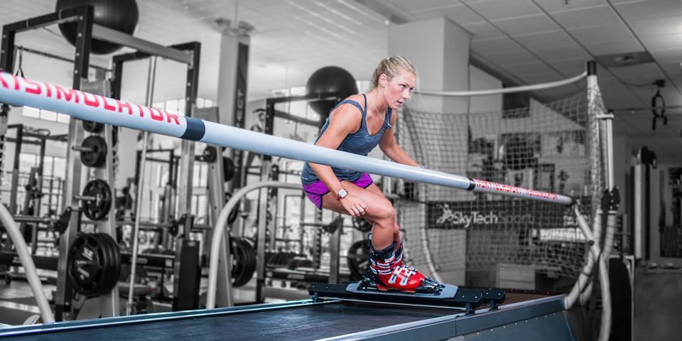 Skiing, Simulation, Training, Athletes, Mikaela Shiffrin