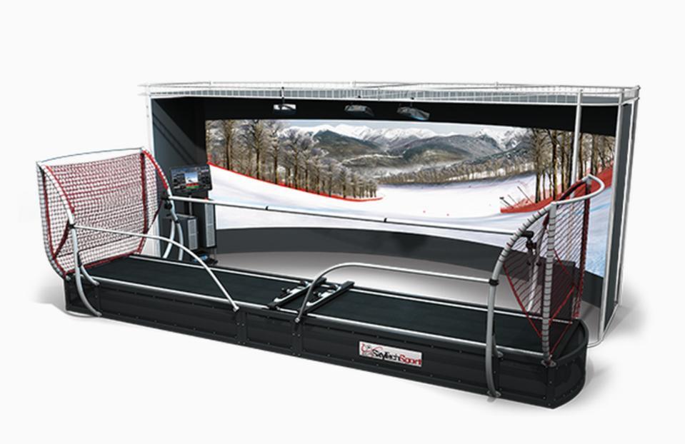 Skiing, Training, Simulator