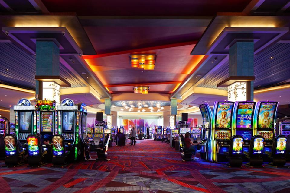 The casino floor at Resorts World Catskills