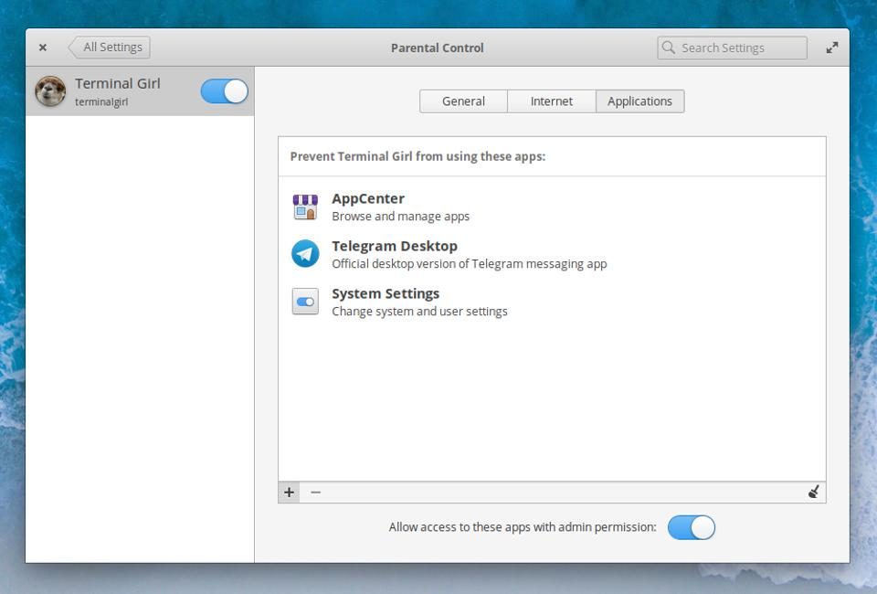 Parental Controls in elementary OS 5.1