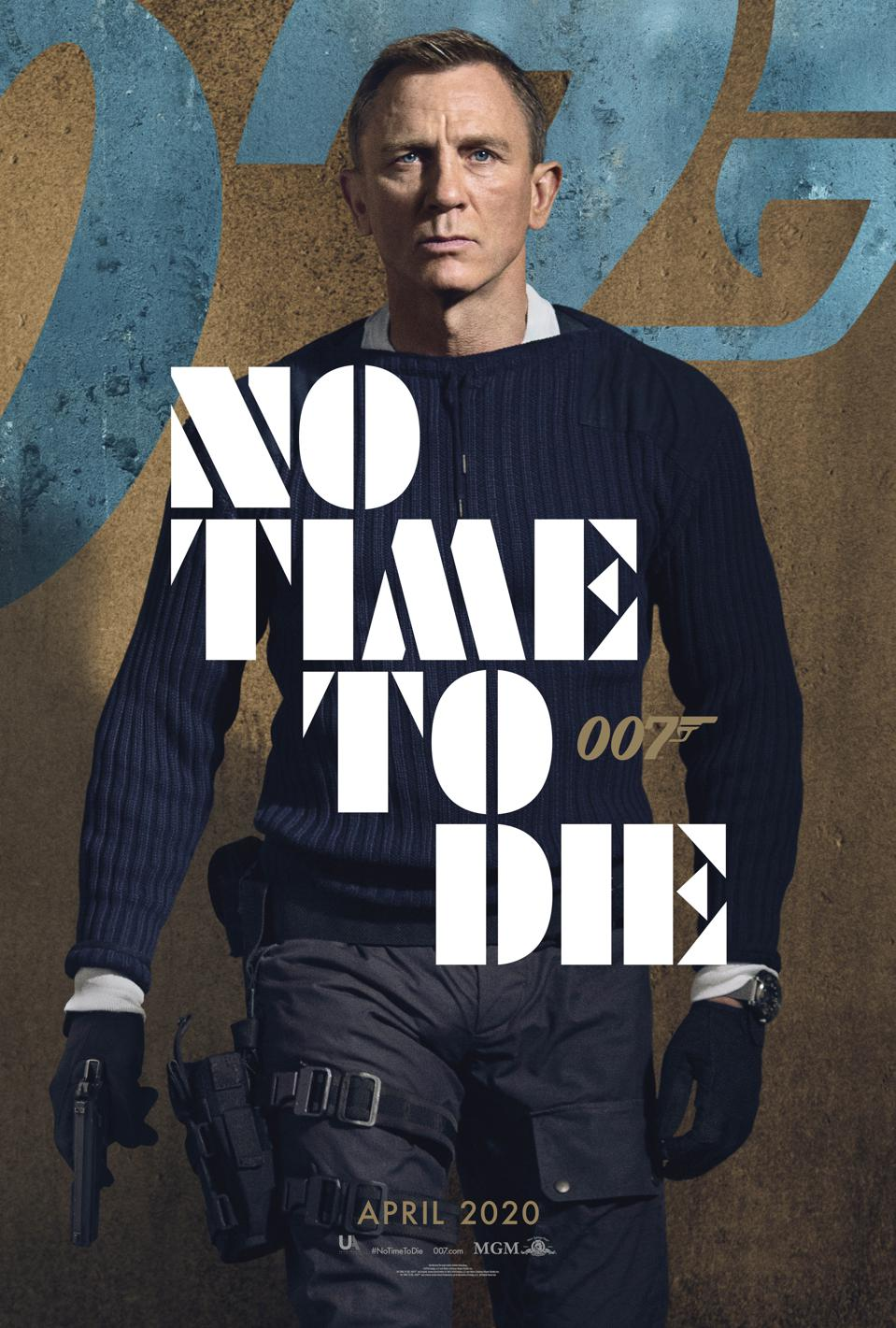 'No Time To Die' Posters: The Next James Bond Movie Has ...