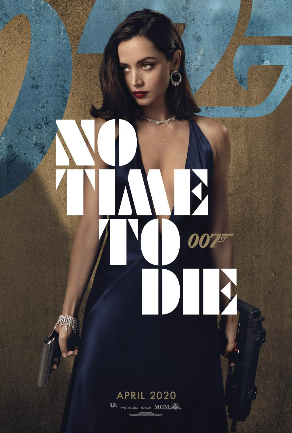 Ana de Armas in 'No Time to Die'