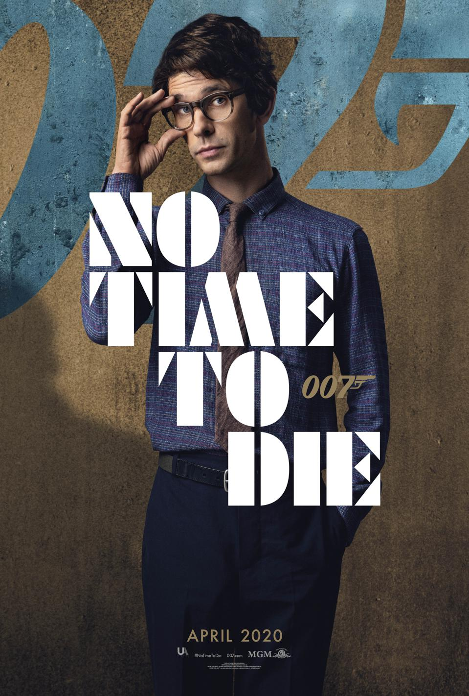 Ben Whishaw in 'No Time to Die'
