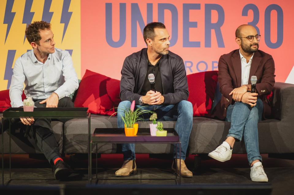 (L-R) Rob Moffatt, Julian Hearn, Neeraj Berry