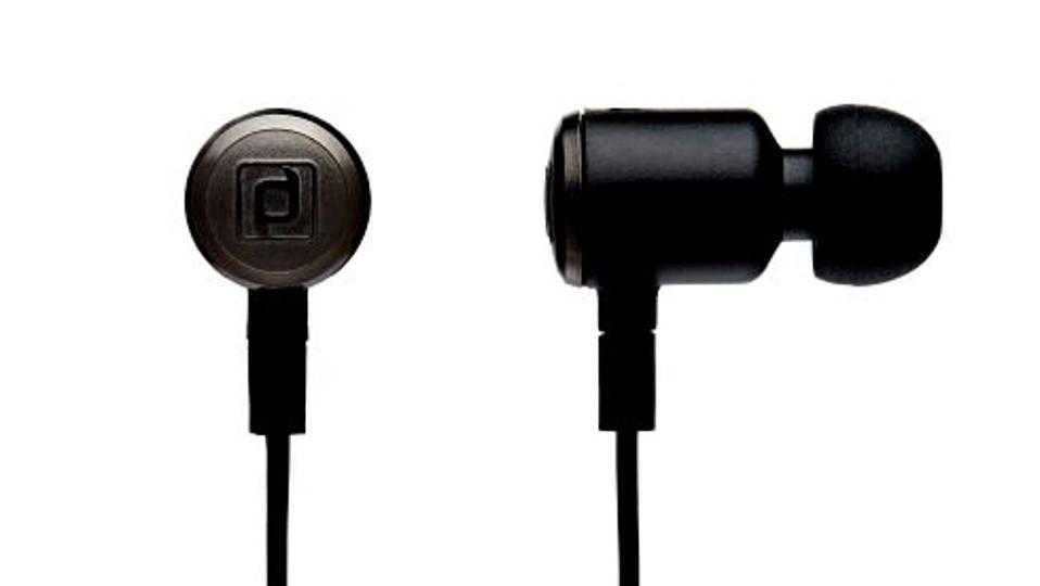 Carbon IEM earpiece shot