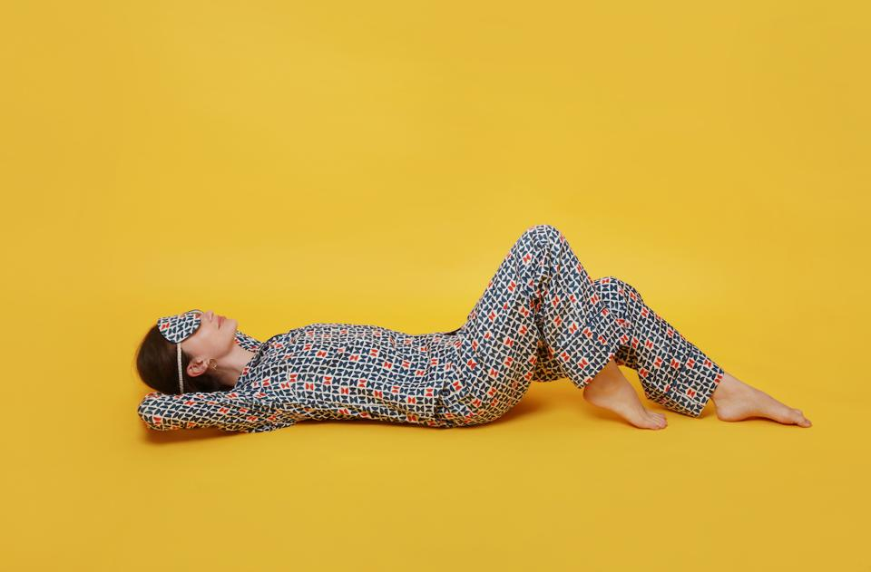 Mulberry Silk Pajamas from The Ethical Silk Company
